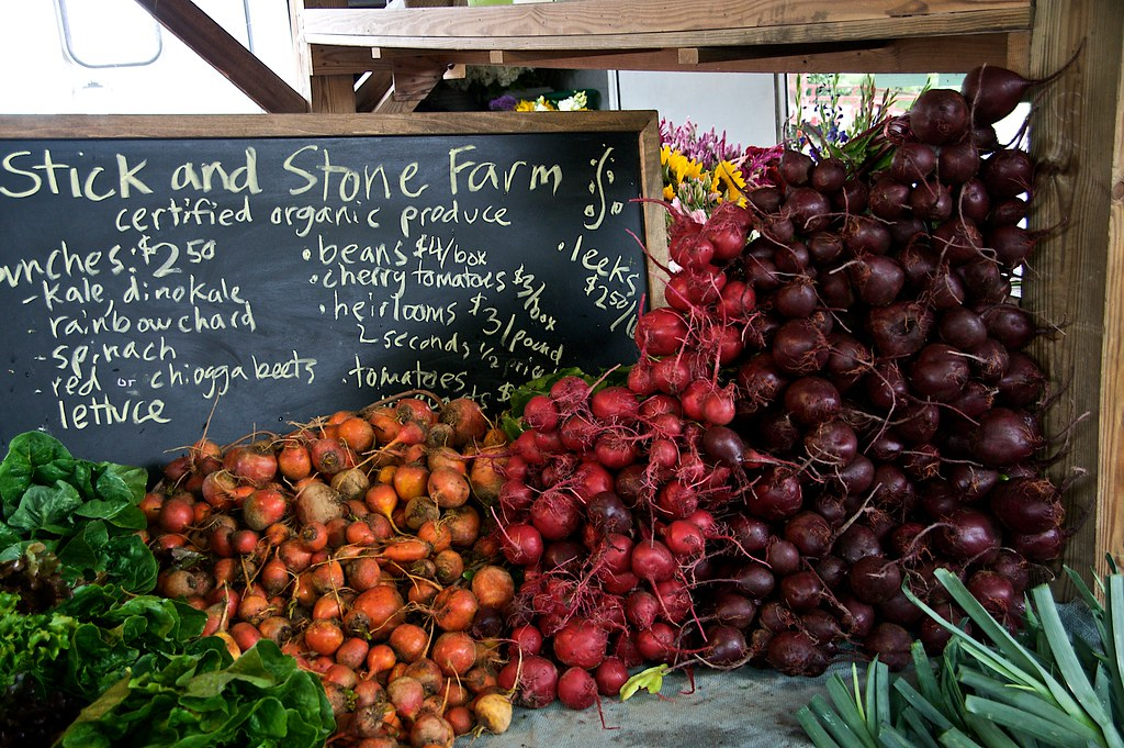 Beets at Ithaca Farmers Market