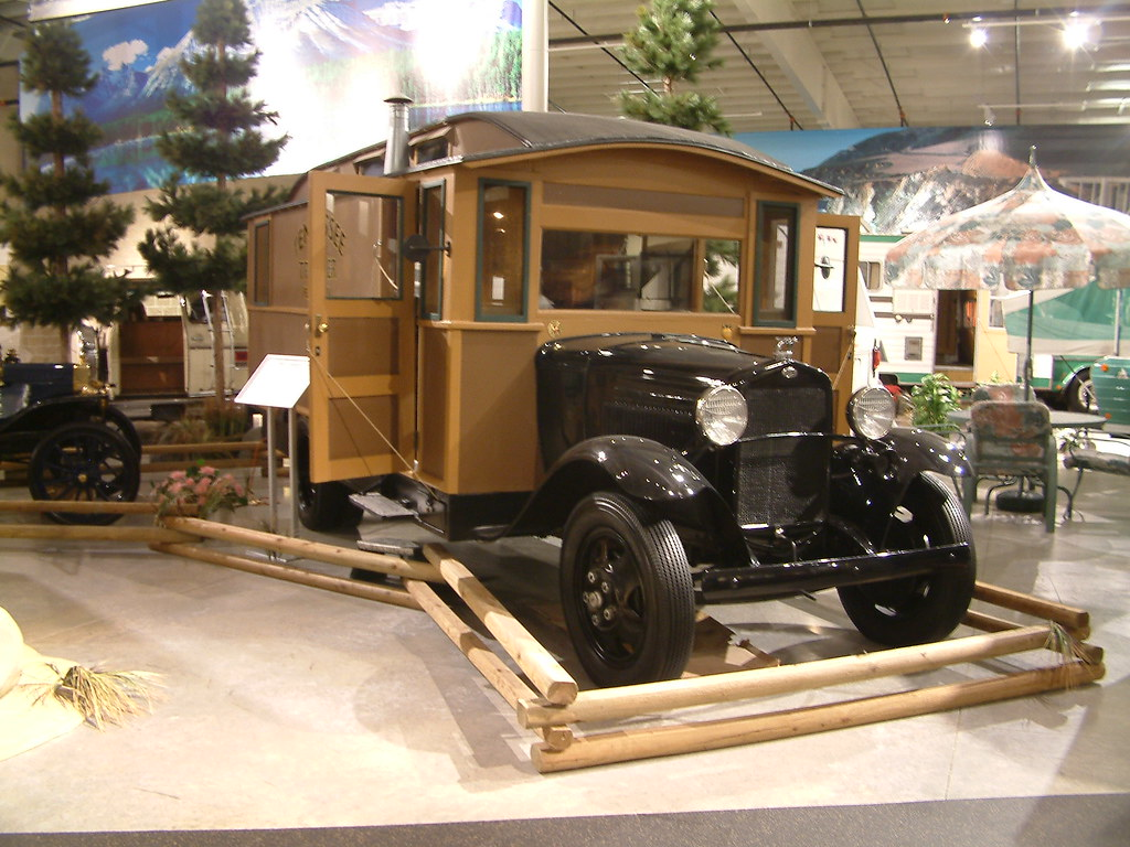 Rv Hall Of Fame >> Rv Hall Of Fame Elkhart In Ford Aa House Car 1931 Flickr