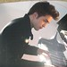 The Twilight movie screenshot: Edward Cullen playing the piano