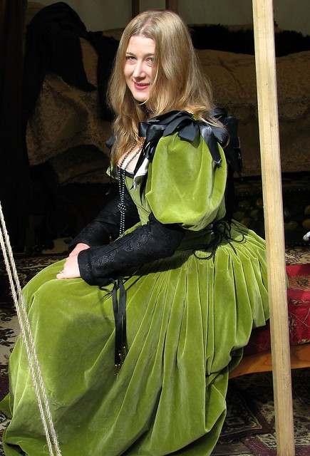 Woman at Renaissance Faire