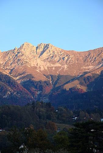 berg sunrise austria innsbruck soluppgång österrike mouintains