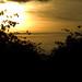 Parras, puesta de sol, y la sierra de Lillo