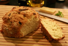 baking, beer bread, bread, whole grain, baked goods, food, soda bread, dessert, scone,
