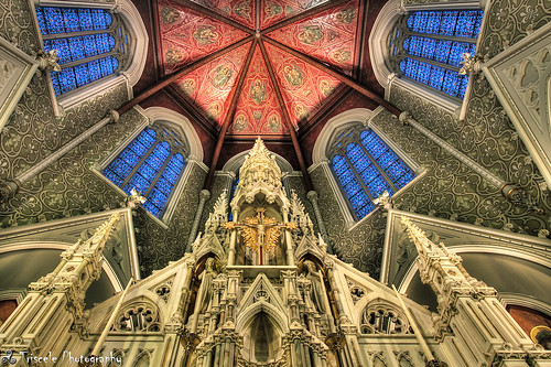 church boston ma catholic cross cathedral massachusetts ceiling holy hdr abigfave colorphotoaward goldstaraward