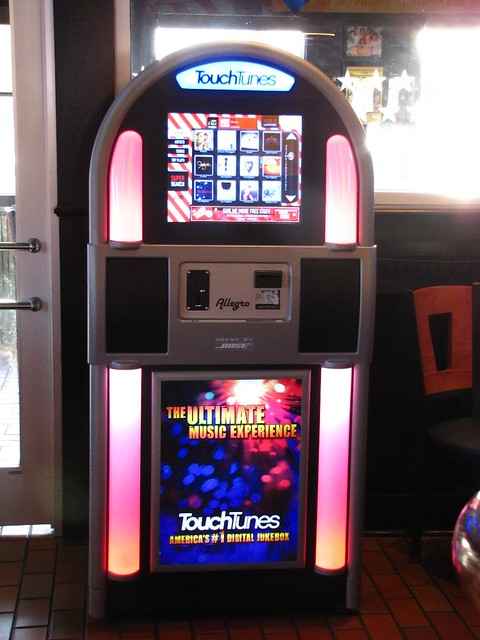 Touch tunes the modern jukebox flickr photo sharing for Sale moderne