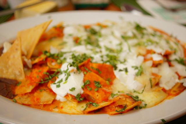 Chilaquiles rojos | Flickr - Photo Sharing!