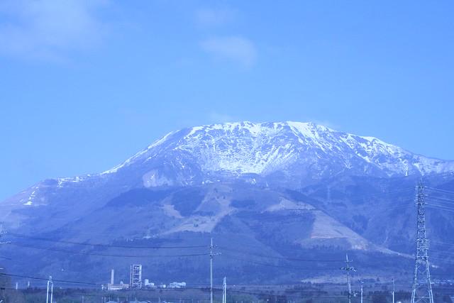 岐阜→米原間で見えた(たぶん)伊吹山