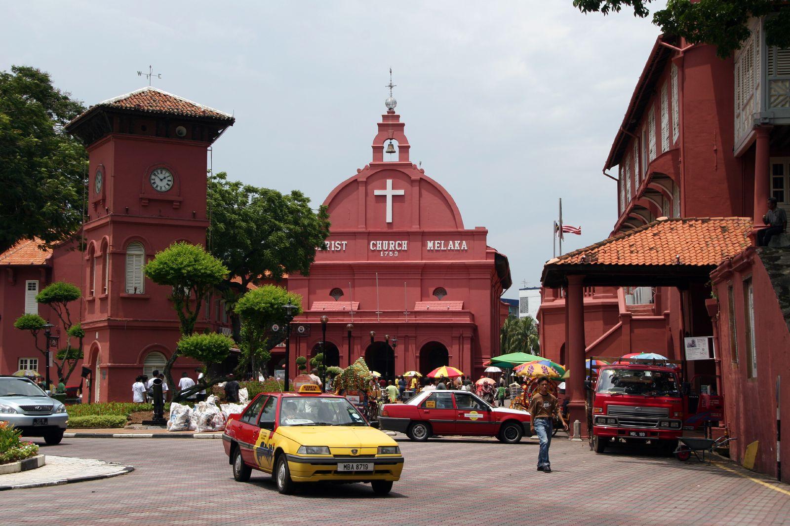 Christ Church and Clock Tower, Melaka