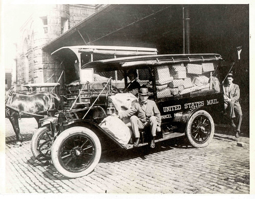 Parcel Post Vehicles and Employees