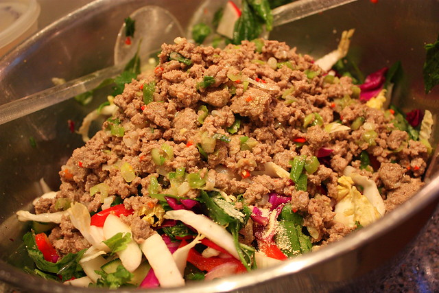 Thai Larb Salad | Flickr - Photo Sharing!