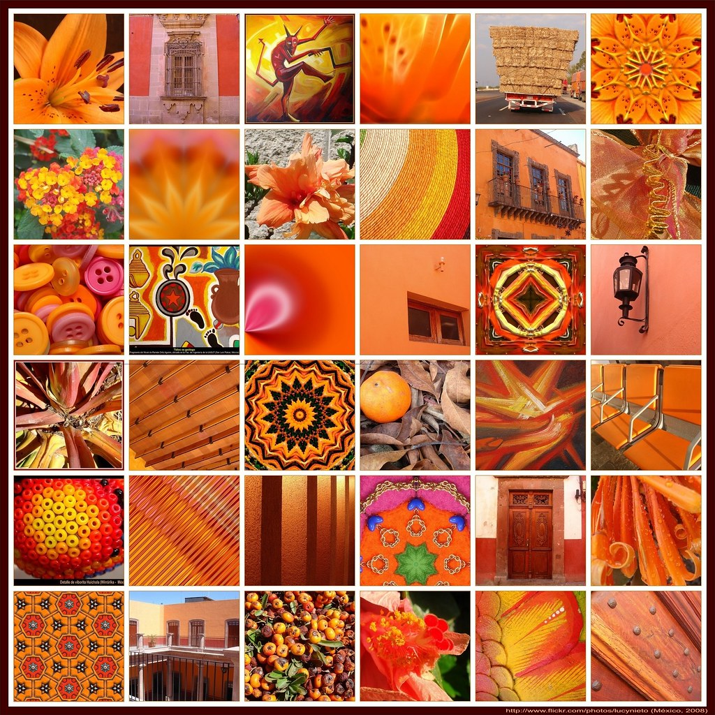 Mosaico Naranja - México 2008