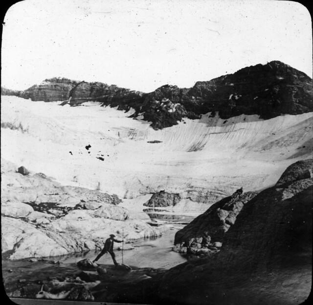 Déversoir du lac glacé du Portillon, 4e lac
