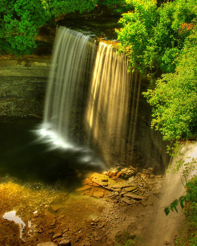 waterfalls manitoulin bridalveilfalls kagawong alexhudelphotographygmailcom
