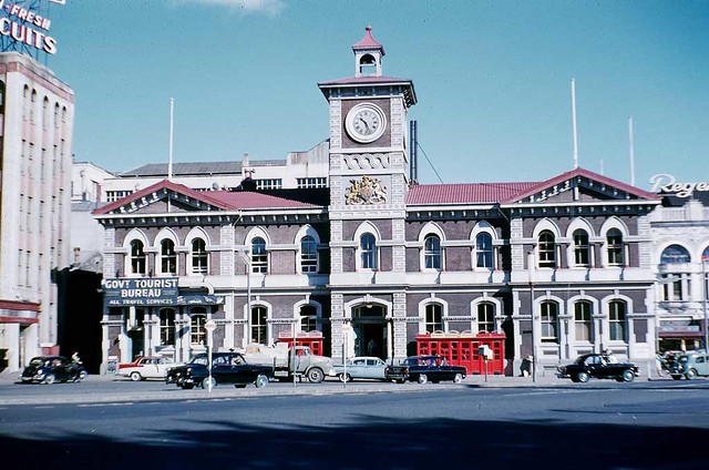 Central Post Office in Cathedral Square