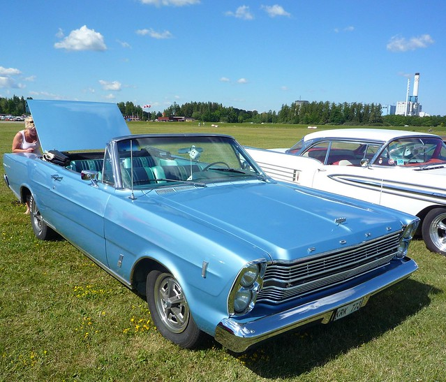 1966 blue ford convertible galaxie 500 flickr photo sharing. Cars Review. Best American Auto & Cars Review
