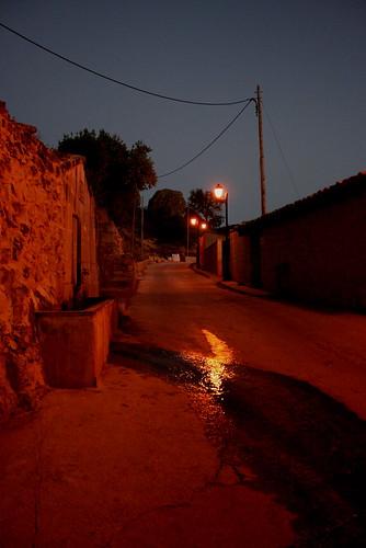 Camí fins a l'ermita de Sant Bernat