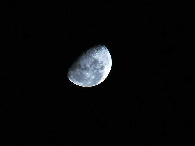 Luna menguante | Flickr - Photo Sharing!