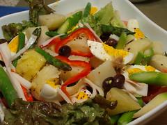 meal, salad, vegetable, food, dish, cuisine, caesar salad,