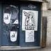 Small photo of NOIR Alphabet Soup Boston Street Graffiti