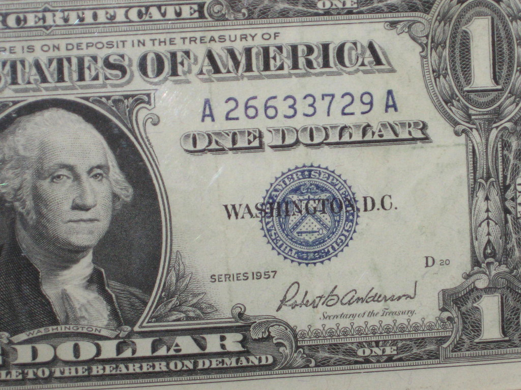 1957 1 Silver Certificate 1957 1 1887 Silver Dollar Values