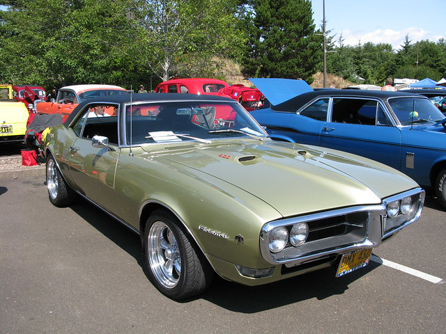1968 gold firebird
