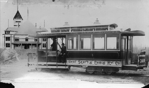 West Seattle Cable Railway, 1895
