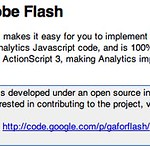 Google Analytics Tracking for Adobe Flash - Google Analytics Tracking Code - Google Code