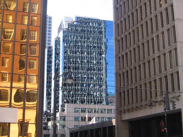 Hartford building reflections