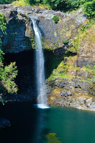 hawaii waterfall rainbow nikon falls bigisland hilo d90 1685mmf3556gvr