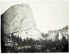 Bellows Butte and Nevada Fall, Yosemite.