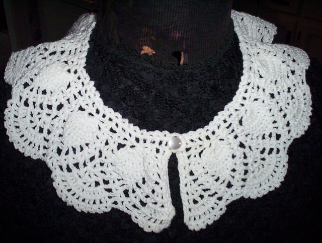 lady_n_thread - Free Vintage Patterns - Crochet Collars - Ladynthread