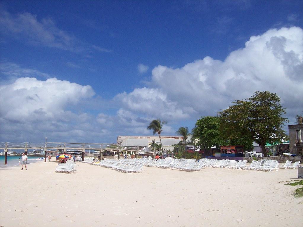Beach Chairs at Barbados
