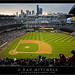 Evening at Safeco Field, Seattle by G Dan Mitchell