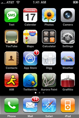 What's on your iPhone home screen?