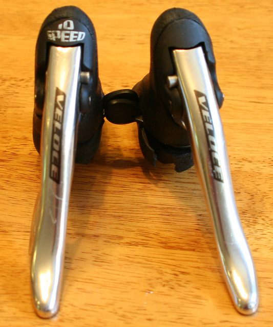 Campagnolo Veloce Ergopower Brake Levers Shifters 10 Speed