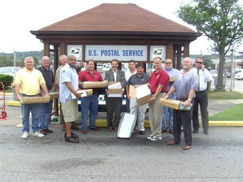 Wonderful Ohio: Cincinnati Area Local Union Mail Solidarity Mailing, July 30