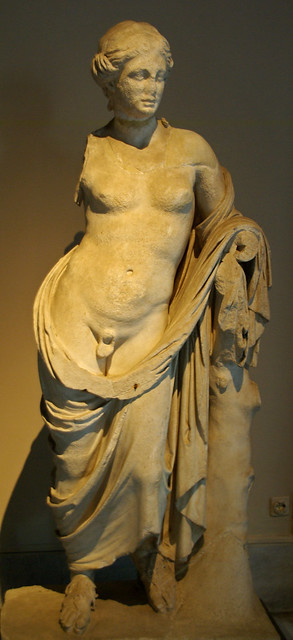 Male o female? / Hermafrodit (s. III a.C.), Museu Arqueològic d'Istambul