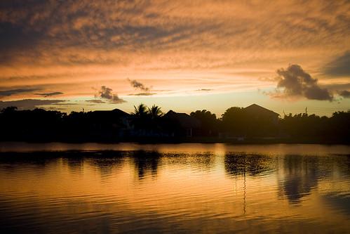 sunset sky sun clouds landscape soleil florida floride
