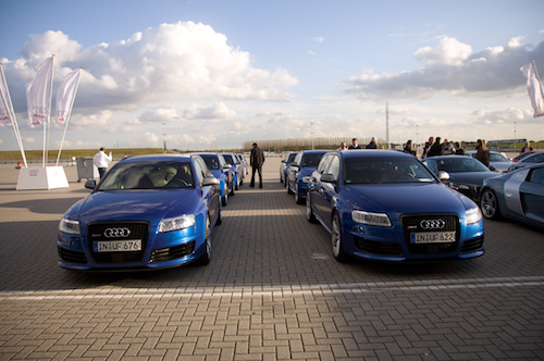 Bunch of RS6 cars