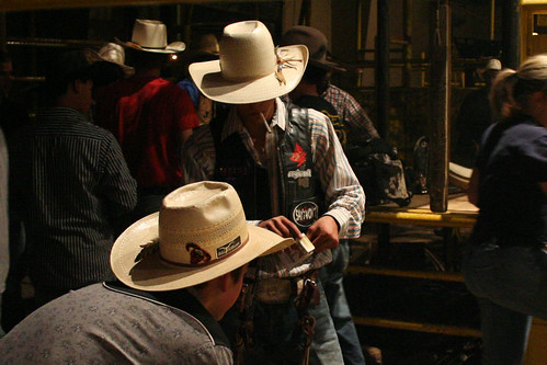 Cowboy Tableau at the Rodeo by gassett12