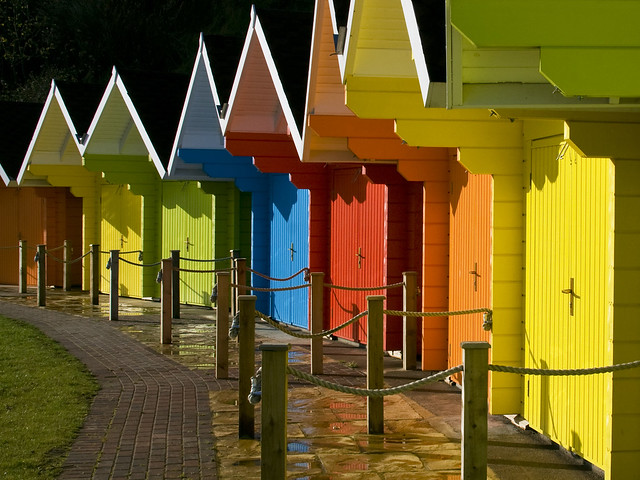 Scarborough Beach Huts