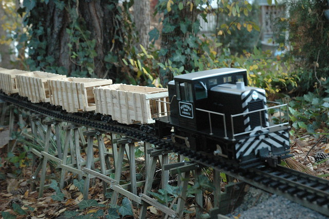 G scale 45 Tonner Operating 038