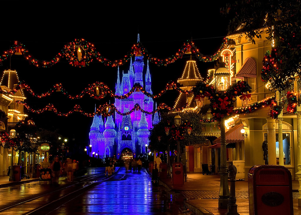 Disney - Christmas on Main Street USA (Explored) by Express Monorail