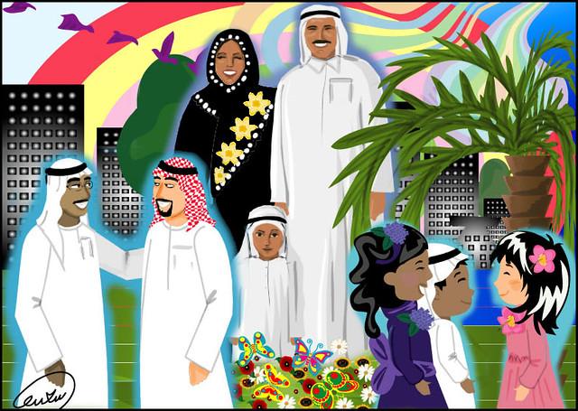 فرحة العيد نزلت في الراية بمناسبة العيد وكل عام وأنتم