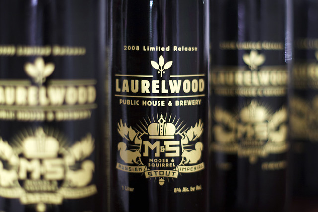 52 Beers Group, Week 15: Moose and Squirrel, Laurelwood Brewing Co.