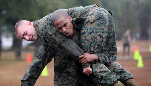 Fitness Test Shows Marines a Taste of Combat