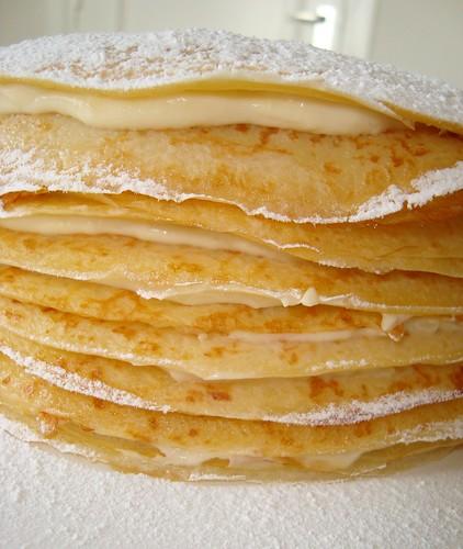 Mille Feuille Crepe Cake Recipe