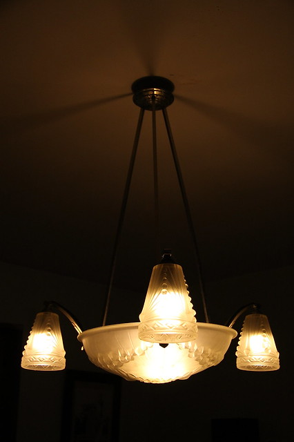 lustre art deco schneider art deco schneider chandelier. Black Bedroom Furniture Sets. Home Design Ideas