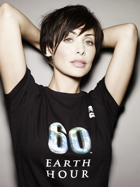 Natalie Imbruglia supports Earth Hour