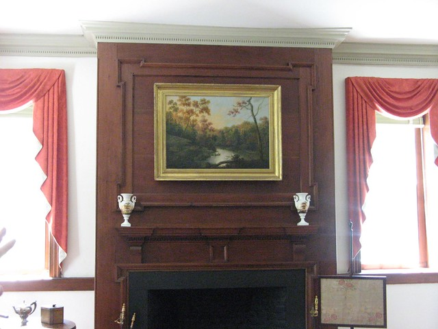 Canvas Art Over Fireplace